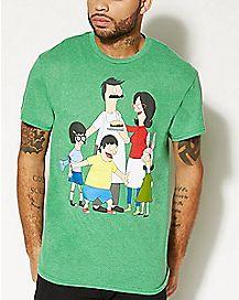 Belcher Family T Shirt - Bob's Burgers