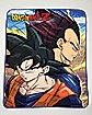 Goku Vegeta Dragon Ball Z Fleece Blanket