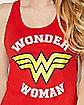 Star Back Wonder Woman Tank Top