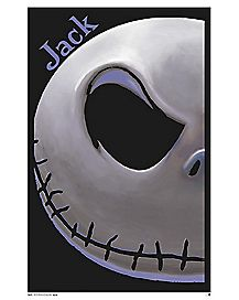 Jack Skellington Poster - The Nightmare Before Christmas