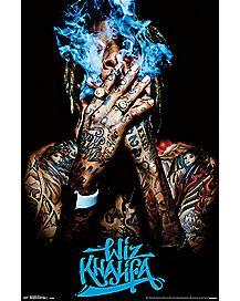 Smoke Wiz Khalifa Poster