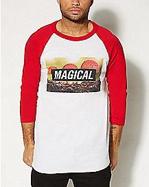 Magical Shroom Raglan T shirt
