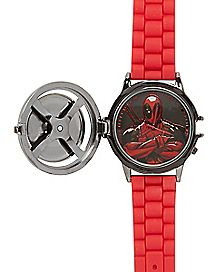 Deadpool Marvel Spinner Watch