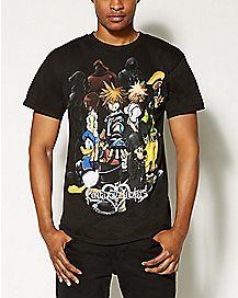 Group Kingdom Hearts T Shirt