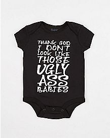 Ugly Ass Babies Baby Bodysuit