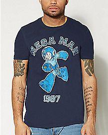 1987 Mega Man T Shirt