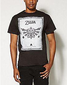 Frame Legend of Zelda T shirt