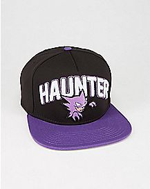 3D Embroidered Haunter Pokemon Snapback Hat