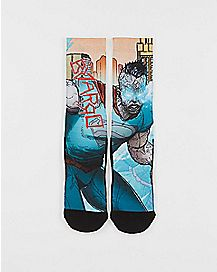Forever Bizarro Crew Socks - DC Comics