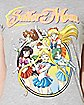 Warriors Sailor Moon T shirt