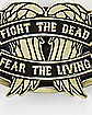 Fight the Dead Walking Dead Belt Buckle
