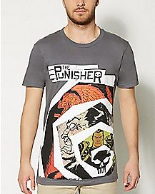 Spiral Punisher T Shirt - Marvel