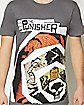 Spiral Punisher T Shirt - Marvel