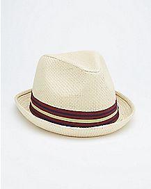 Natural Tan Fedora Hat
