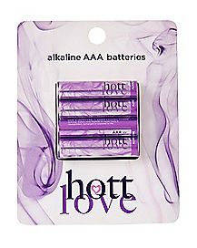 AAA Batteries 4 Pack- Hott Love