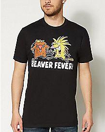 Beaver Fever Nickelodeon T Shirt