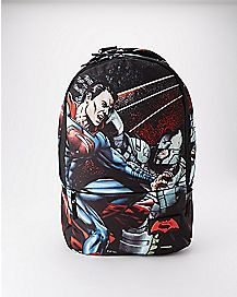 Batman V Superman Backpack - DC Comics