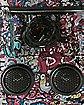 Pink Graffiti Audio Backpack