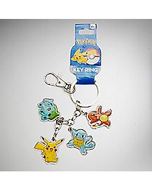 Multi Character Pokemon Keychain