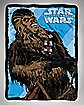 Chewie The Force Awakens Star Wars Fleece Blanket