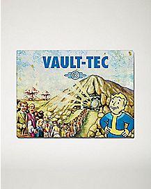 Vault-Tec Fallout Fleece Blanket