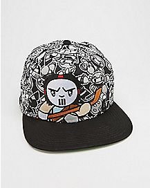 Casey Jones TMNT Snapback Hat