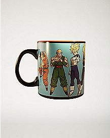 Inside Print Dragon Ball Z Coffee Mug - 20 oz.