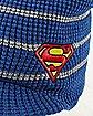 Superman Visor Beanie Hat - DC Comics