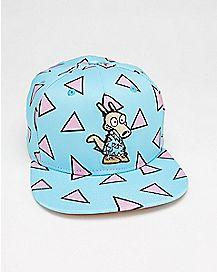 Geometric Pattern Rocko's Modern Life Snapback Hat