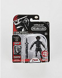 4-Inch Shadow Link Action Figure - The Legend of Zelda