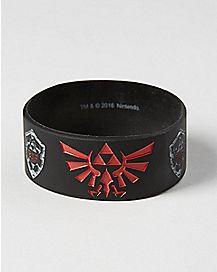 Shadow Link Rubber Bracelet - The Legend Of Zelda