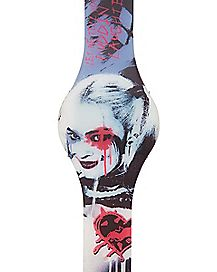 Harley Quinn Suicide Squad LED Watch