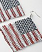 Flag Dangle Earrings