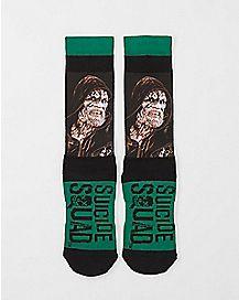 Sublimated Killer Croc Suicide Squad Crew Socks