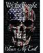 We The People Fear No Evil Poster