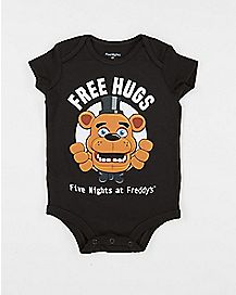 Free Hugs Baby Bodysuit - Five Nights At Freddy's