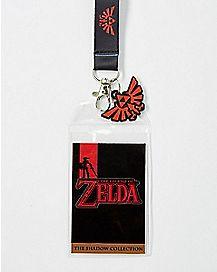 Shadow Link Lanyard - The Legend Of Zelda