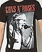 Axl Scream Guns N Roses T shirt