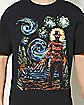 Abstract Freddy A Nightmare on Elm Street T Shirt