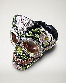 Skull Head Ashtray - Black