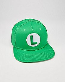 Cosplay Luigi Snapback Hat
