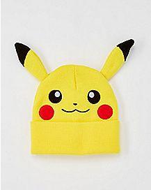 Pikachu Pokemon Beanie Hat