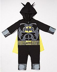 Batman Caped Baby Romper - DC Comics