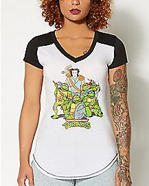 Group TMNT T Shirt - Teenage Mutant Ninja Turtles