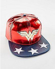 Suit Up Wonder Woman Snapback Hat - DC Comics