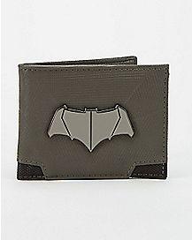 Metal Badge Batman Bifold Wallet - DC Comics