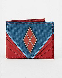 Badge Harley Quinn Bifold Wallet