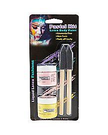 Latex Pastel Body Paint Kit