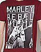 Rebel Bob Marley T shirt