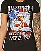 USA 77 Led Zeppelin T Shirt